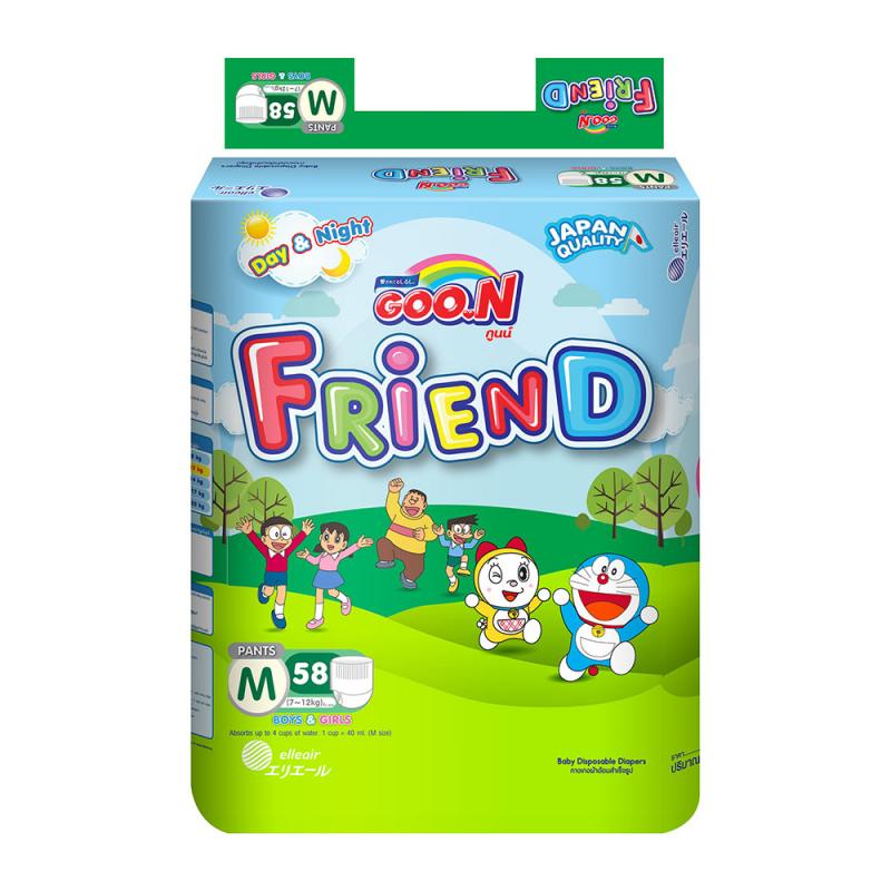 Goo.N là thương hiệu bỉm trẻ em nổi tiếng được sản xuất bởi tập đoàn DAIO Nhật Bản