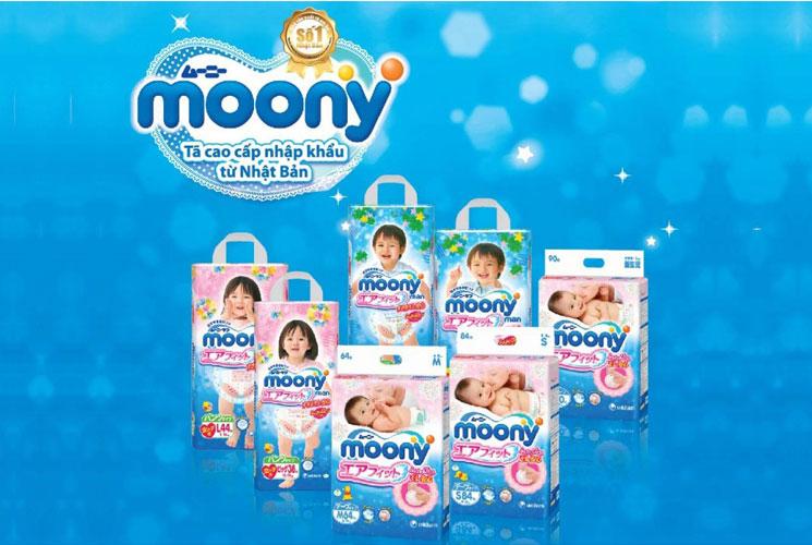 Moony còn đa dạng về chủng loại khi có 2 loại bỉm riêng biệt cho bé trai và bé gái dựa trên những đặc tính riêng của từng giới.