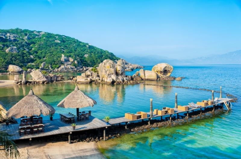 Một góc đảo Bình Hưng - Khánh Hòa
