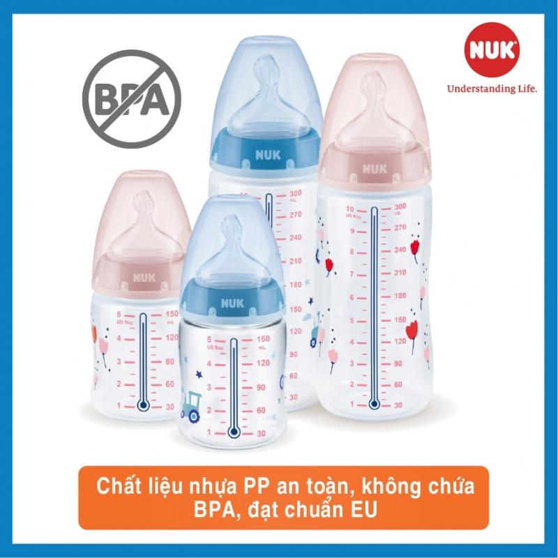 Bình sữa nhựa PP đạt chuẩn Châu Âu (EU) - Dung tích tối ưu lựa chọn - Giá siêu mềm