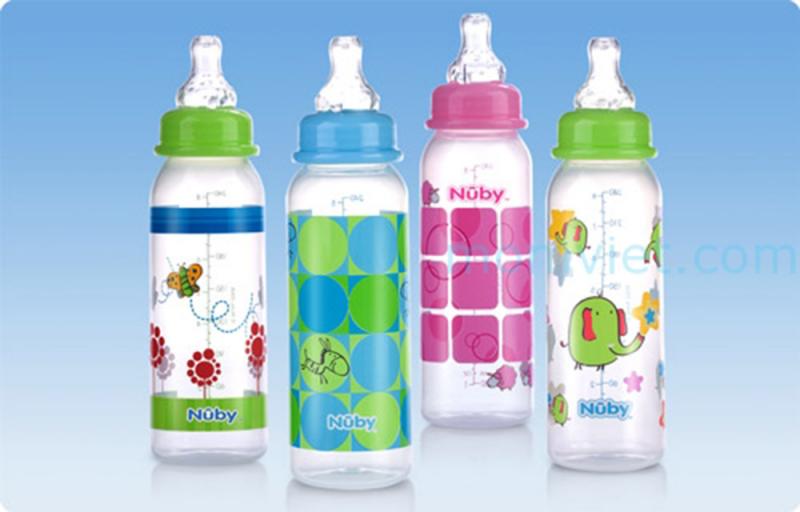 Bình sữa Nuby Non-Drip