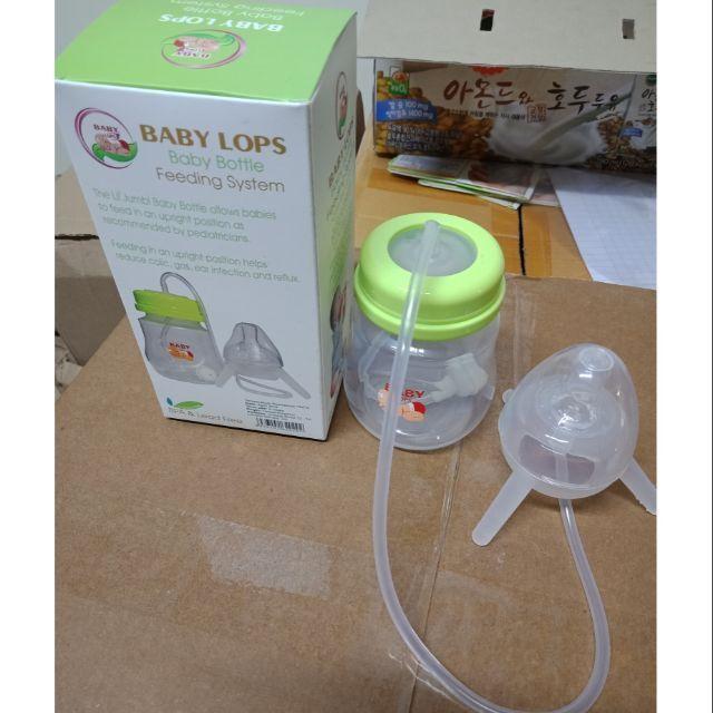 Bình hút sữa rảnh tay Baby Lops