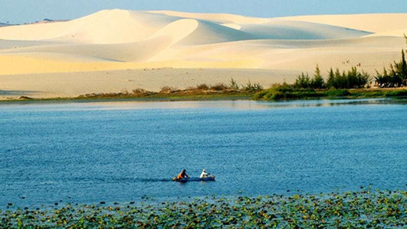 Đồi cát Bàu Trắng đẹp hoang dại
