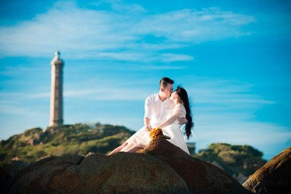 Chúp ảnh cưới ngoại cảnh tại Bình Thuận