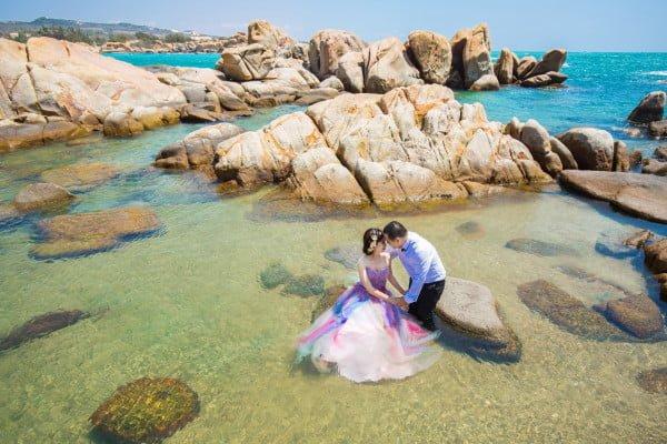 Ảnh cưới ngoại cảnh tại Mũi Kê Gà