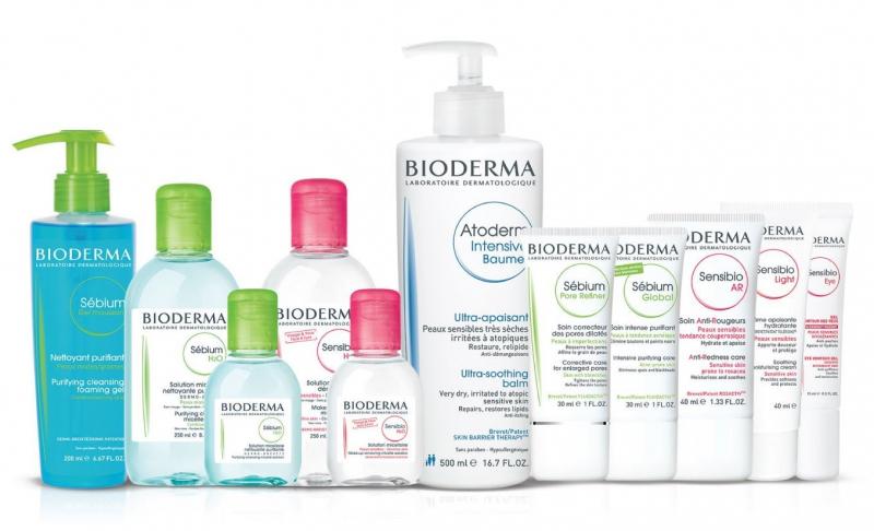 Một số sản phẩm của Bioderma