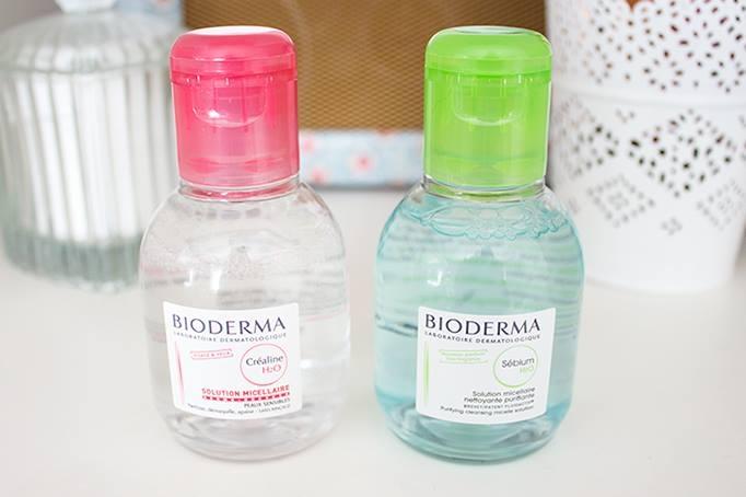 Bioderma Crealine H20 và Bioderma Sebium