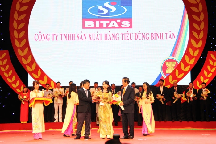 BITA'S vinh dự đạt giải Doanh nghiệp Sao Vàng ASEAN