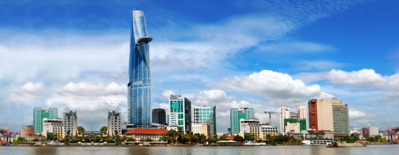 Bitexco Finacial Tower ở TP HCM, Việt Nam