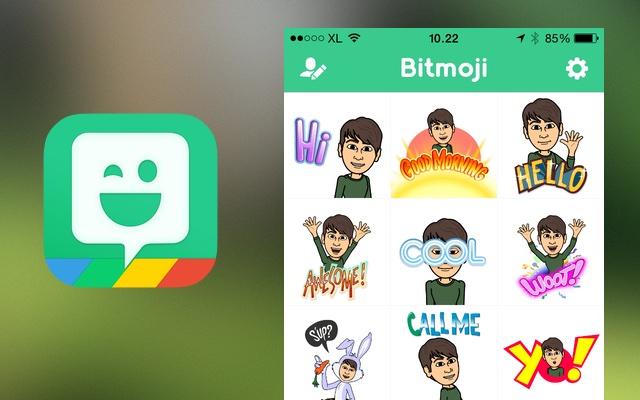 Ứng dụng Bitmoji trên iPhone