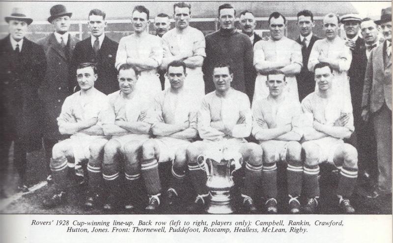 Đội hình Blackburn Rovers vô địch năm 1928