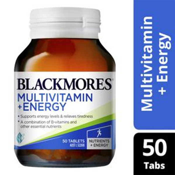 Blackmores Multivitamin+Energy