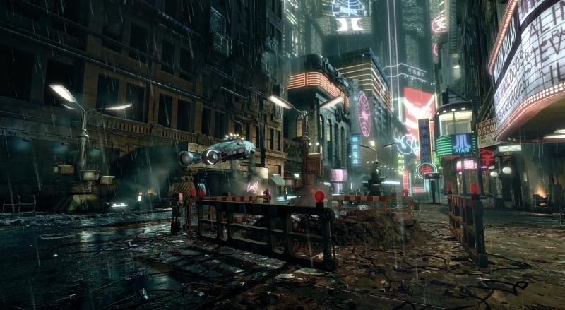 Thành phố mang phong cách Cyberpunk trong Blade Runner 2049
