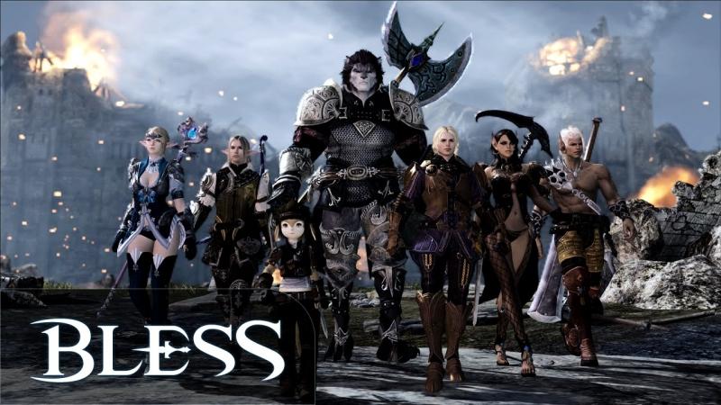 Bless Online MMORPG là một game online có vốn đầu tư cực khủng ở thị trường Hàn Quốc