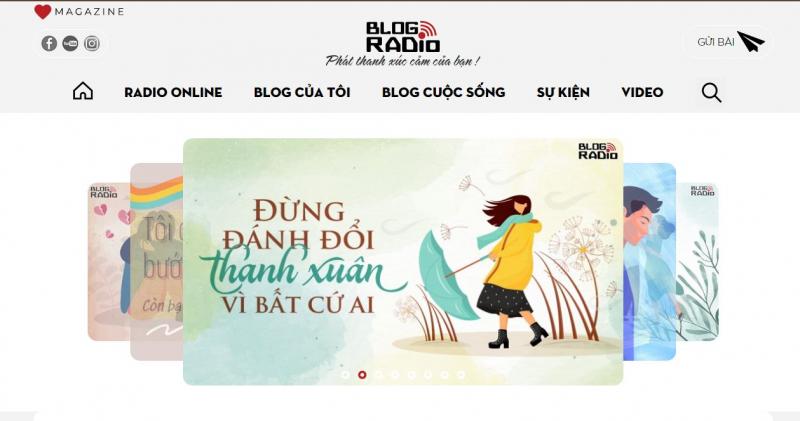 Website của Blogradio