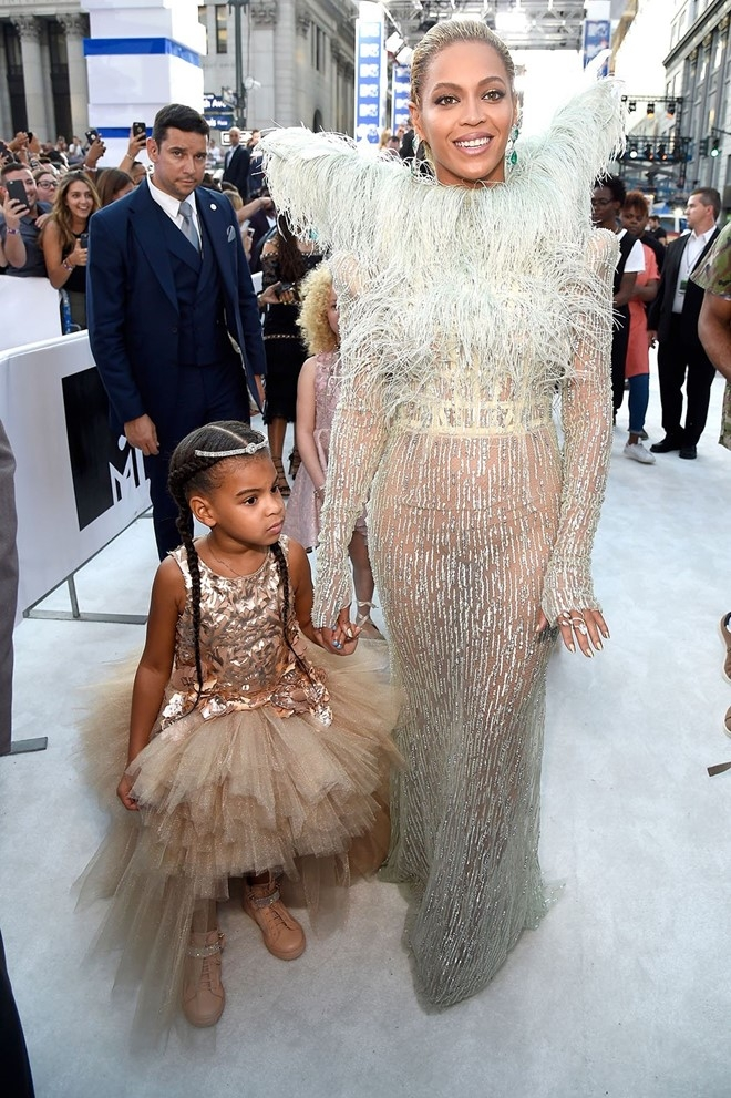 Blue Ivy Carter con gái của cặp đôi nghệ sĩ Beyonce và Jay Z