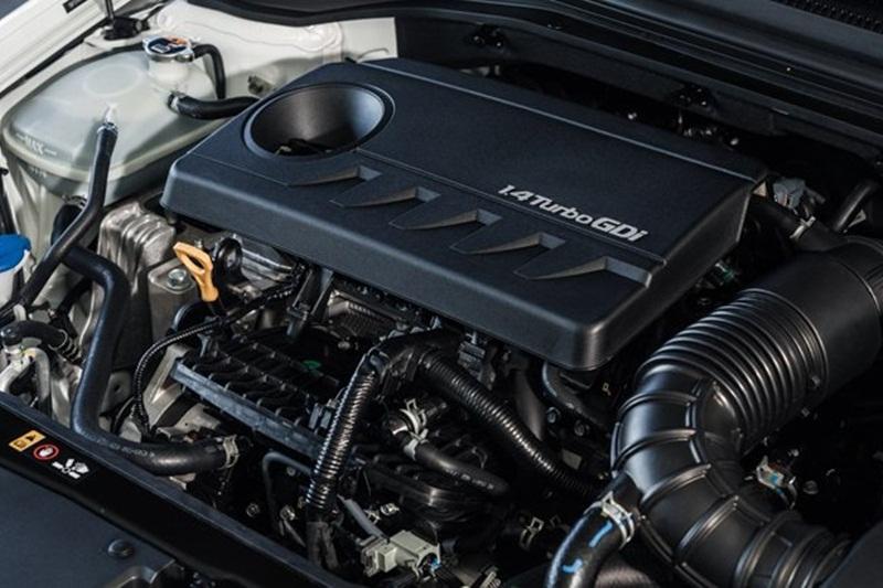 Động cơ tăng áp kép 1.4L 4 xi-lanh của xe Hyundai Elantra Eco