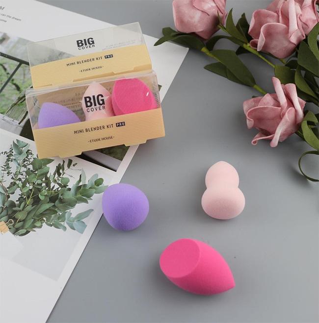 Bộ 3 Mút Tán Nền Etude House Big Cover Mini Blender Kit Pro