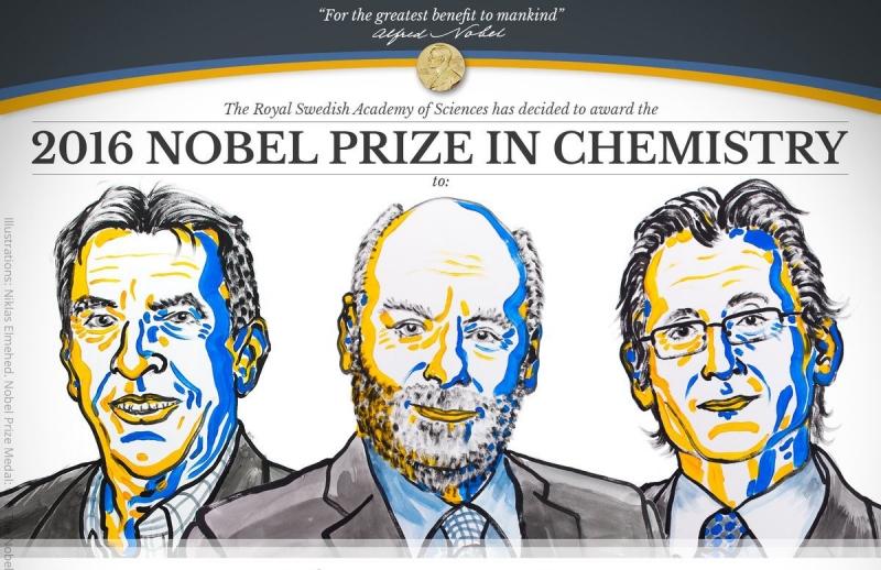 Bộ ba nhà khoa học Anh, Pháp, Hà Lan đạt giải NOBEL hóa học