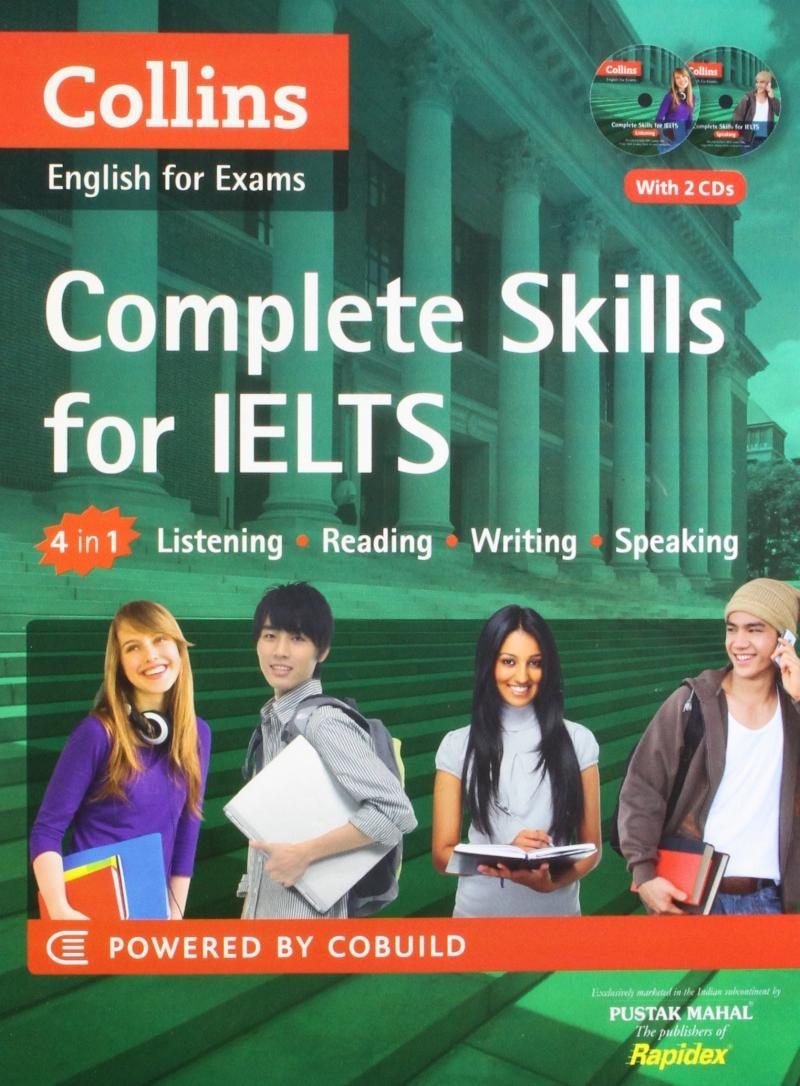 Bộ sách Collins English For IELTS - cung cấp đầy đủ toàn diện 4 kĩ năng