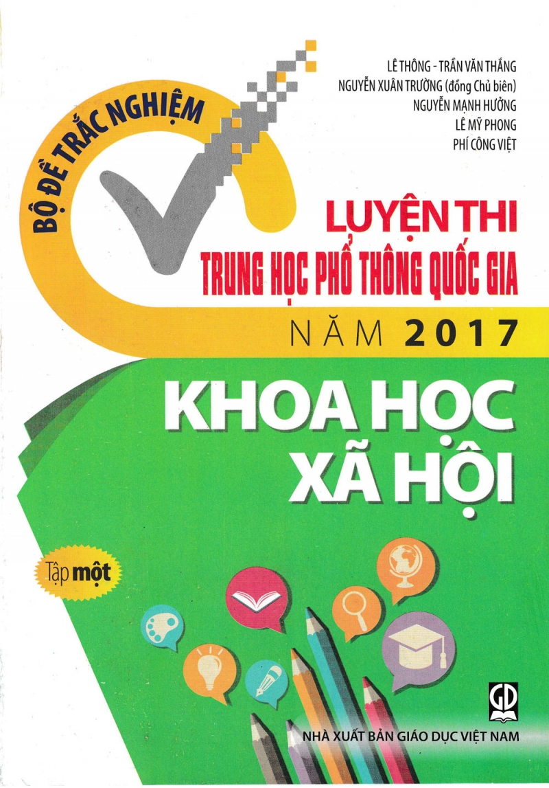 Top 7 cuốn sách luyện thi THPT Quốc Gia tốt nhất 2017