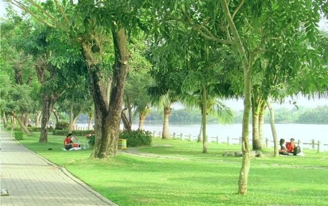Dạo mát công viên