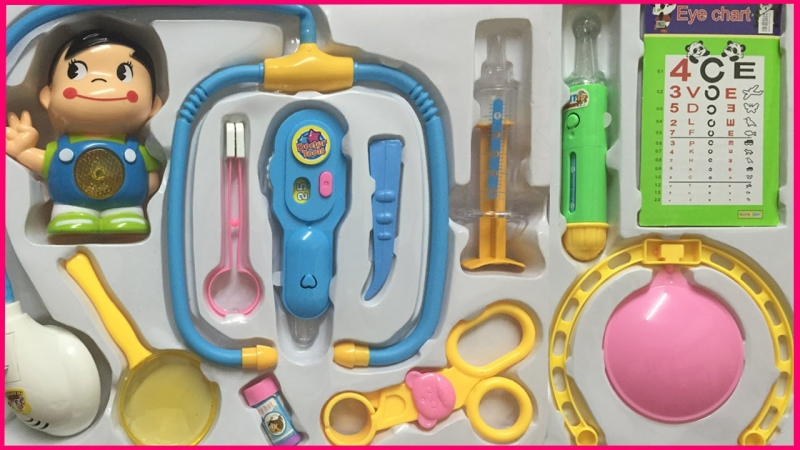 Bộ đồ chơi bác sĩ thông dụng