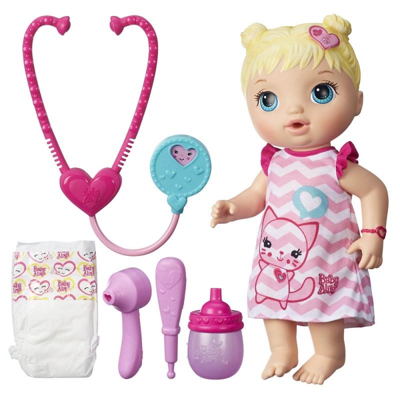 Bộ Đồ Chơi Khám Bệnh Cùng Charlotte Baby Alive B5158