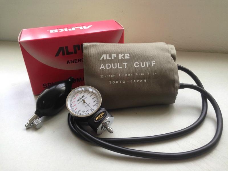 Bộ đo huyết áp cơ ALPK2 - Nhật Bản - Loại máy đo huyết áp tốt bạn nên mua nhất