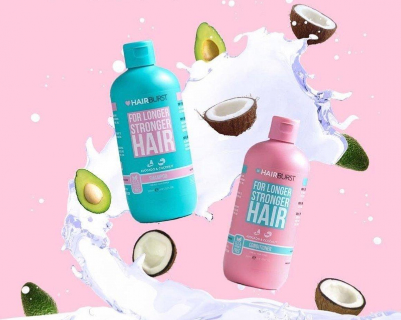 Bộ gội xả HairBurst For Longer Stronger Hair