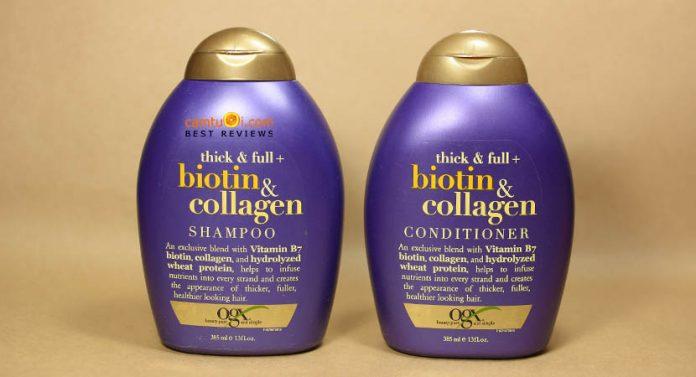 Bộ gội xả OGX Biotin & Collagen của Mỹ