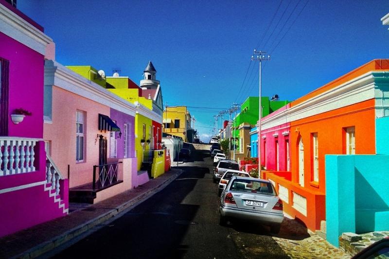 Thành phố rực rỡ sắc màu
