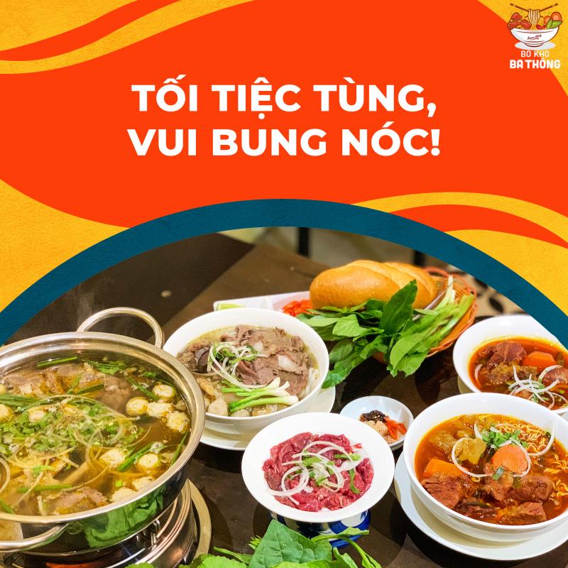 Bò Kho Ba Thông