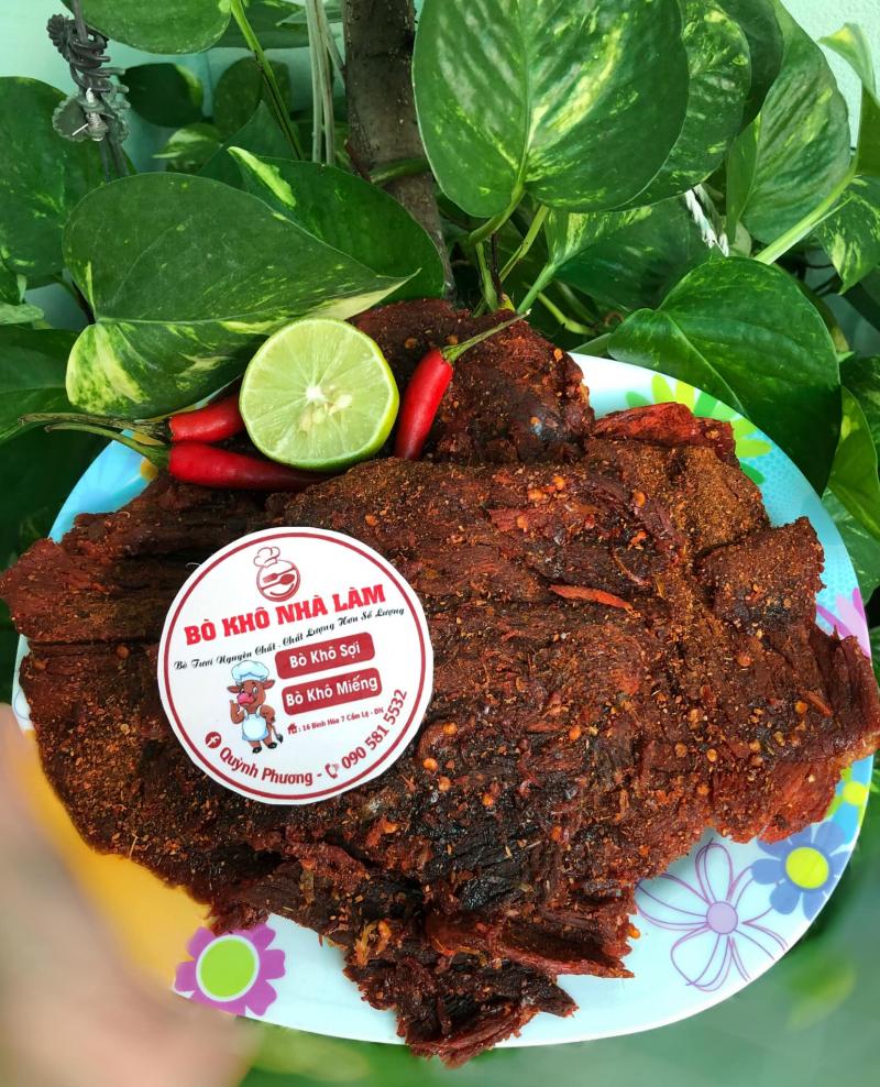 Bò Khô Homemade Quỳnh Phương - địa chỉ mua thịt bò khô ngon nhất Đà Nẵng