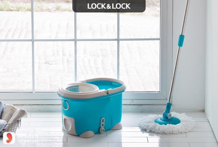 Bộ Lau Nhà 360 Độ Lock&Lock MOP-Q2-1 sản phẩm thông minh và được ưa chuộng