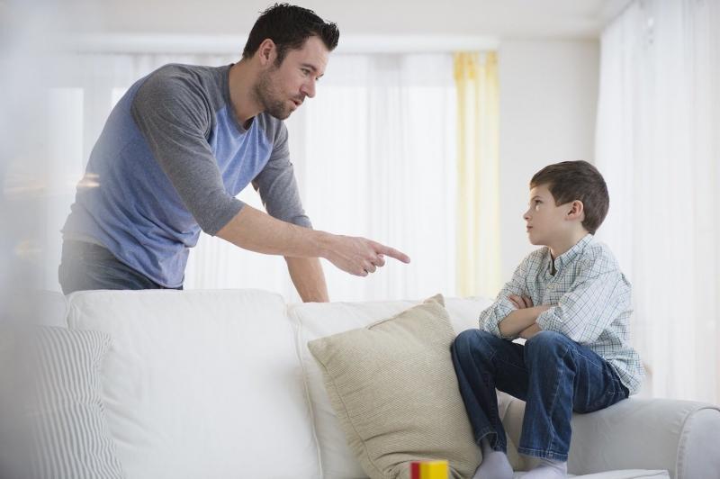 Bố mẹ không nên la rầy con quá nhiều