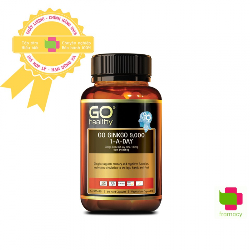 Bổ não Go Healthy Ginkgo 9000+