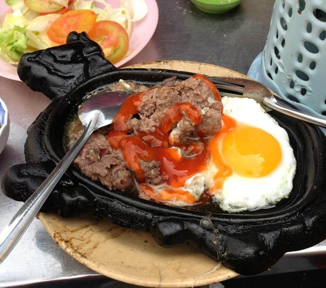 Thanh Nhan Beef is a famous steak shop in Saigon