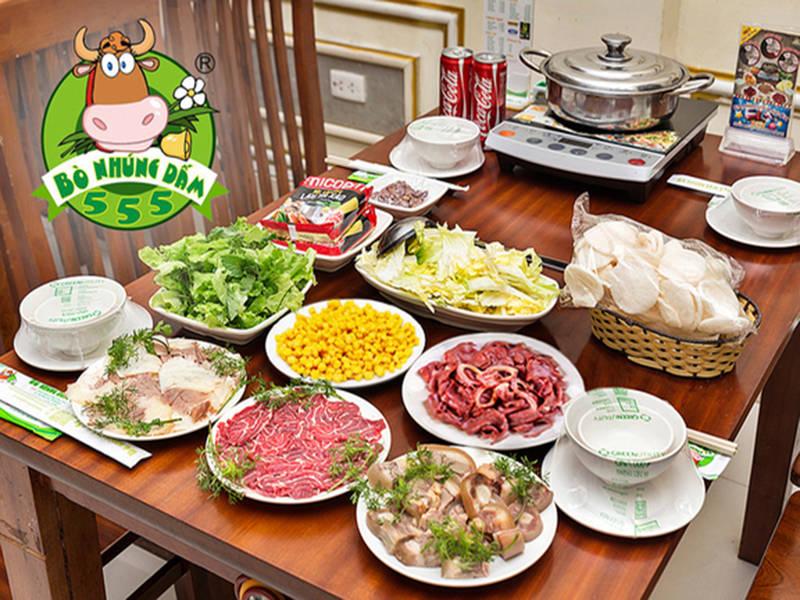 Bò Ngon 555 - Đền Lừ