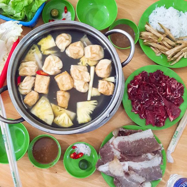 Bò Nhúng Dấm - Phú Viên