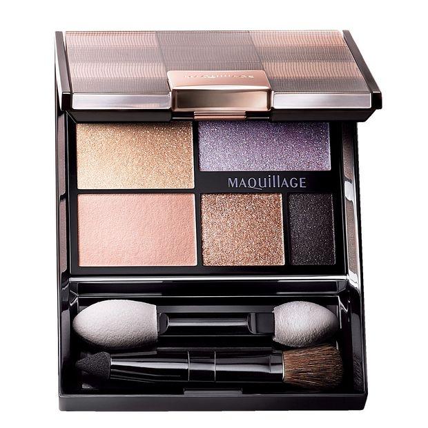 Bộ phấn mắt Shiseido Maquillage True Eye Shadow với 5 màu nổi bật