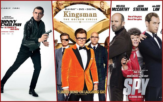 Top 10 bộ phim điệp viên hài hước nhất