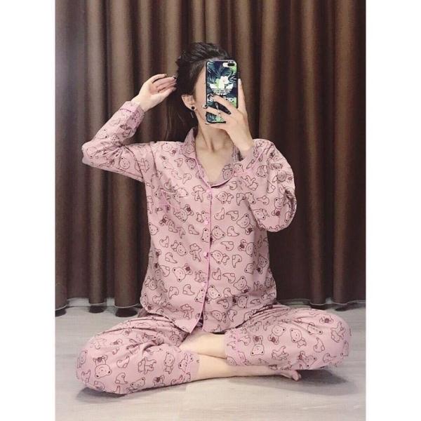 Mẫu pijama chất liệu cotton luôn