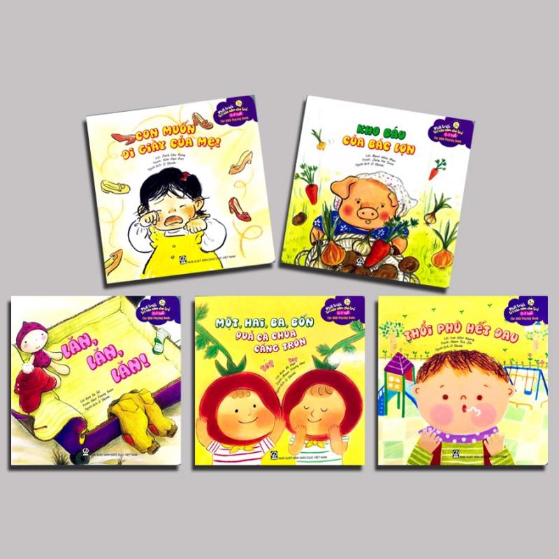 Bộ 5 cuốn sách phát triển kỹ năng