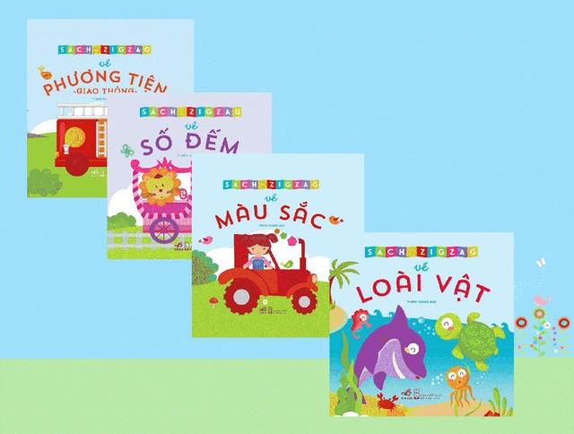 Bộ sách gồm những chủ đề gần gũi và cần thiết cho các bạn nhỏ làm quen với số đếm, chữ, màu sắc và từ ngữ