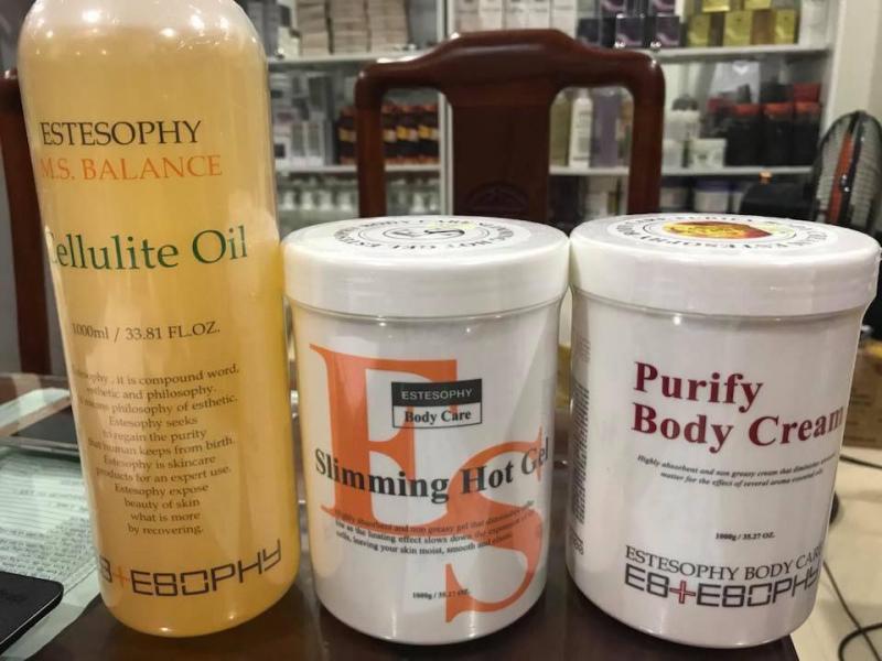 Bộ sản phẩm chăm sóc da chuyên nghiệp thương hiệu Estesophy Hàn Quốc chuyên spa