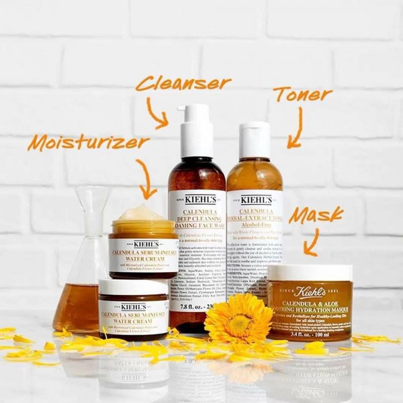 Bộ sản phẩm chăm sóc da dầu mụn của Kiehl's
