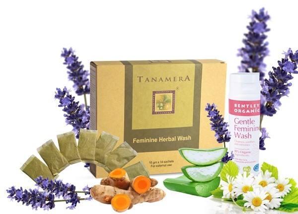 Bộ sản phẩm chăm sóc vùng kín cho mẹ Tanamera và Bentley Organic