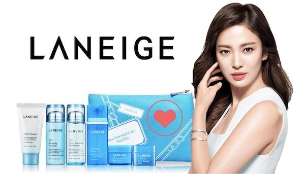 Bộ sản phẩm dưỡng ẩm dành cho da nhờn và da hỗn hợp Laneige Essential Care Trial Set Light