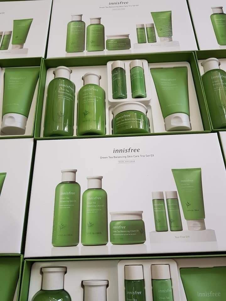 Bộ sản phẩm dưỡng da Innisfree Green Tea Special Skin Care Set – Travel Exclusive